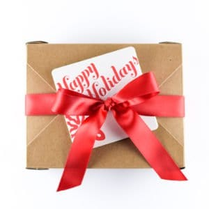 Holiday gift box, corporate gift baskets