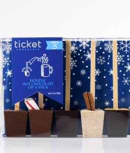 Holiday 5-Pack featuring holiday Ticket labels
